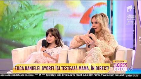 """Daniela Gyorfi este supusă la teste grele de către fiica sa, Maria: """"Vreau să știu dacă mami mai poate să facă roata"""""""