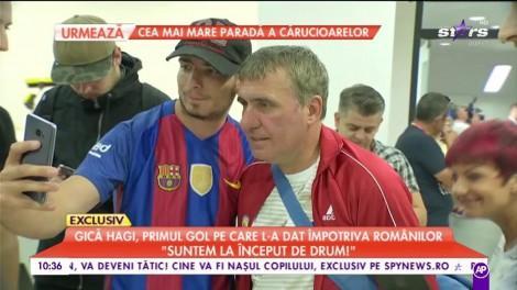 """Regele a ridicat un stadion în picioare! Gică Hagi, despre primul gol pe care l-a dat împotriva românilor: """"Orice este posibil în fotbal!"""""""