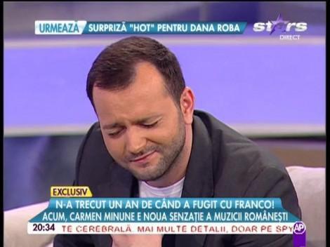 VIDEO: Mihai Morar, cu ochii în lacrimi, în DIRECT, în emisiune! Ce i-a stârnit moderatorului TV această reacție
