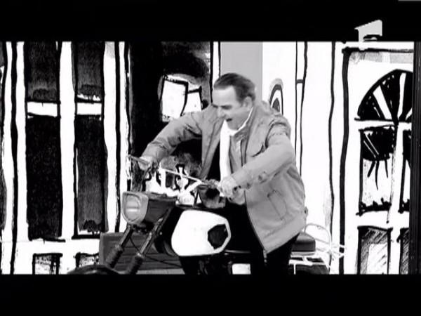 """Pana de motocicleta"", de Dan Mihaescu"