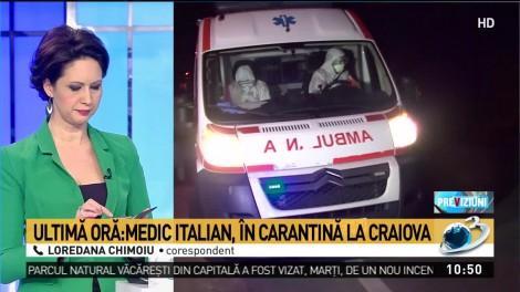 Zeci de români au intrat în contact cu italianul confirmat cu coronavirus. Medic din Craiova, în carantină după ce a călătorit în același avion