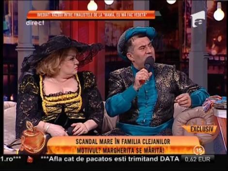 Scandal mare în familia Clejanilor! Motivul: Margherita se mărită!