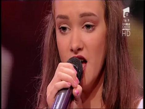 """Ultima, dar nu cea din urmă! Olga ne oferă un final de ediţie excepţional. """"Take Me to Church"""" se aude superb la X Factor: """"Eşti rachetă, bravo!"""""""