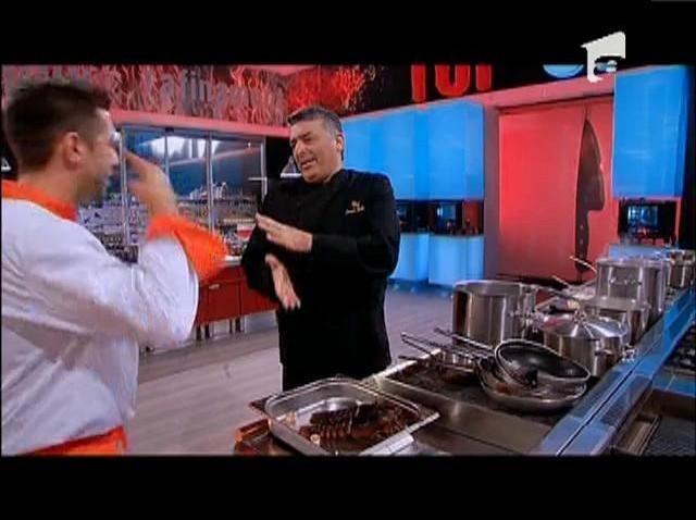 Mihai Irimia este de TOP în ochii lui Chef Hadad