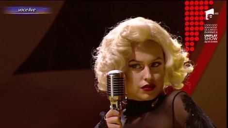 Erotism și senzualitate, marca Misha! Ozana e în picioare! Cea mai frumoasă divă a secolului trecut, Marylin Monroe, ne-a ținut cu sufletul la gură