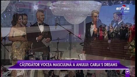 El e VOCEA ANULUI! Carla's Dreams a primit marele trofeu din partea Star Awards 2016