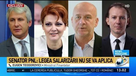 """Scenariu sumbru despre banii românilor: """"Salariile nu vor crește, ci vor fi înghețate în 2019"""""""