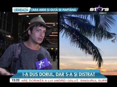 """Radu Vâlcan s-a întors la soţia însărcinată tocmai din Thailanda, unde a filmat al doilea sezon din show-ul """"Insula iubirii""""!"""