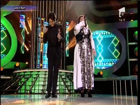 De ce i-a fost frică, n-a scăpat! Margherita și Viorica din Clejani i-au adus pe scenă pe Fuego și pe Irina Loghin! Interpretare excepțională!