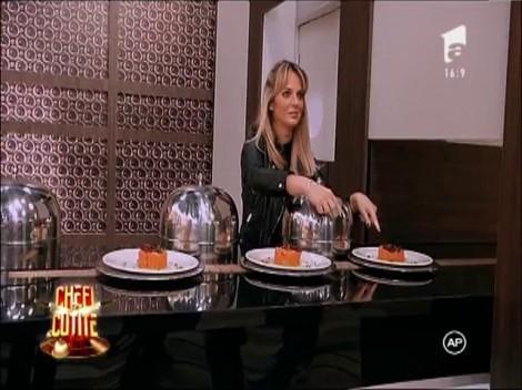 Chef Dumitrescu a jurizat primul fel de mâncare gătit de soţia lui de la începutul relaţiei lor: Mâncărică de cartofi