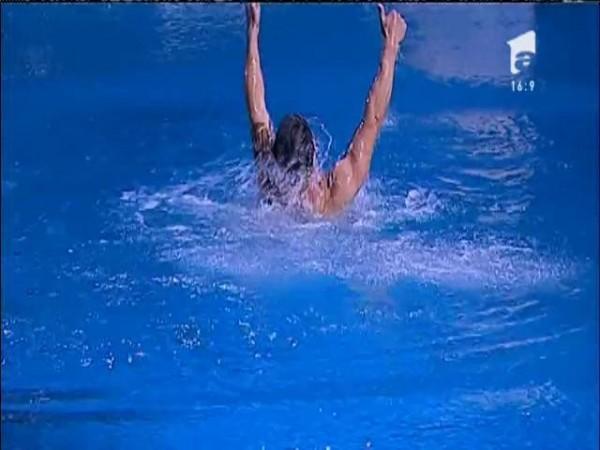 Tomi Giurgia și Deea, sărut pasional și salt în tandem! Au fost....magnifici!