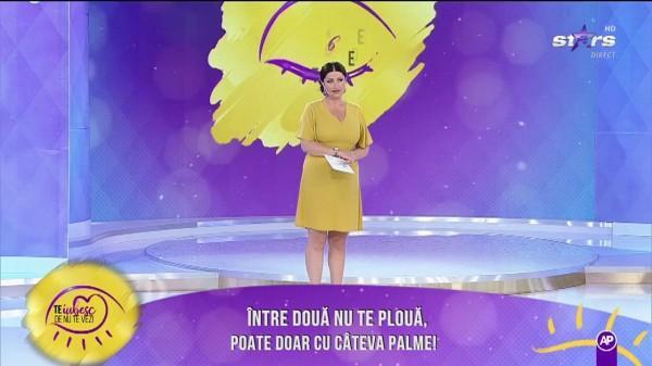 VIDEO. La un pas de bătaie, în direct. Gabriela Cristea şi-a pierdut cumpătul în timpul emisiunii. Ce a enervat-o atât de tare pe vedetă