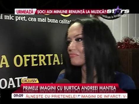 VIDEO: Primele imagini cu burtica Andreei Mantea! Asta e dovada ce spulberă orice îndoială