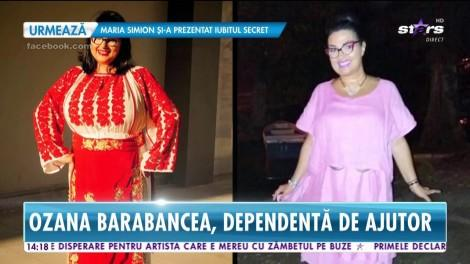 """Încă are dureri cumplite! Ozana Barabancea a slăbit, dar a ajuns dependentă de ajutorul celor din jur: """"Fiica mea mă spală"""""""