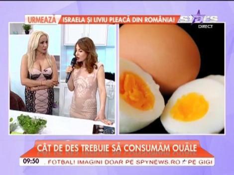 Ouăle proaspete, sursă de vitamine ce poate face minuni pentru siluetă!! Cât de des trebuie să le consumăm și în ce formă!