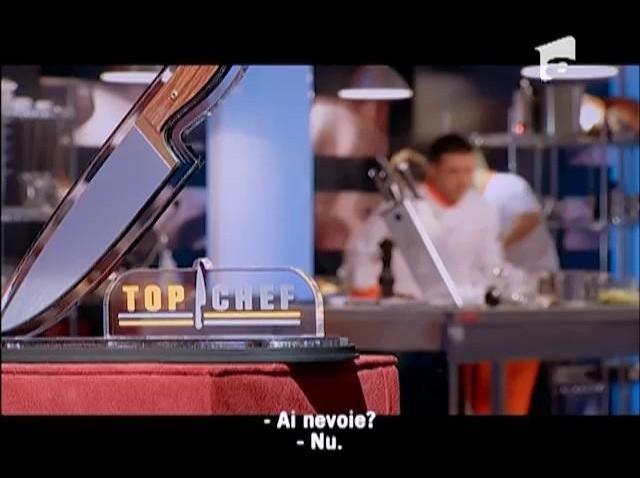 """""""Istvan, chocolat c'est moi, sfeclă c'est toi!"""", afirmă Chef Tudor"""