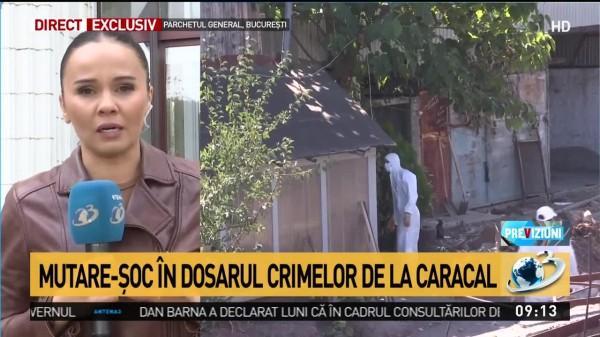 Mutare-şoc în dosarul crimelor de la Caracal