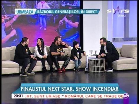 """Luca se întoarce, se știeeee! Simpaticul concurent de la """"Next Star"""" s-a dezlănțuit la """"Răi da' buni!"""""""
