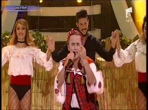 """""""Mie îmi place mândra mică, cea mai mică"""",  zice Șerban Copoț deghizat în Radu Ille!"""