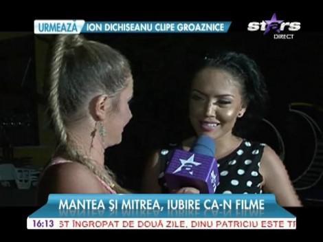 """""""Burlăcița"""", declarații din intimitate! Andreea Mantea a dezvăluit cum o alintă Cristi Mitrea"""