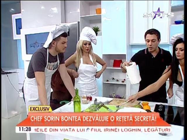 Chef Sorin Bontea dezvăluie o reţetă secretă! Cum se prepară salata perfectă?