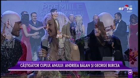 Cea mai frumoasă poveste de dragoste. Andreea Bălan şi George Burcea, desemnaţi cuplul anului la Star Awards