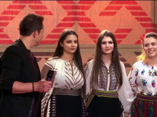 """Maria-Alexandra Tăcutu i-a cucerit pe jurați! Oltenii sunt reprezentați cu mândrie, în marea finală """"Ie, Românie"""""""