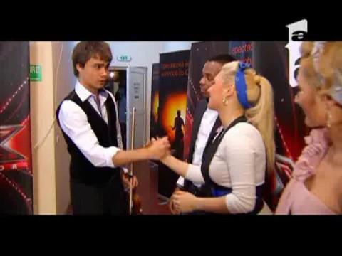 Alexander Rybak aplaudat de concurentii X Factor