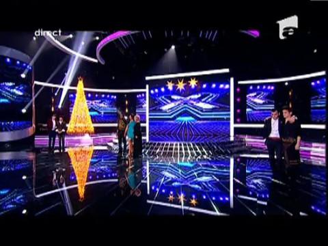 Andrei Leonte, al doilea finalist X Factor!