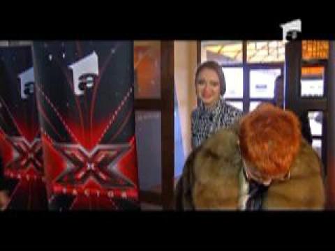 distractie de Craciun in culise la X Factor