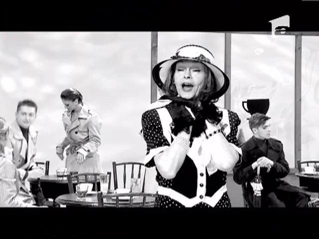 """Marina Voica canta """"Si afara ploua, ploua"""" la """"Romanii au artisti"""""""