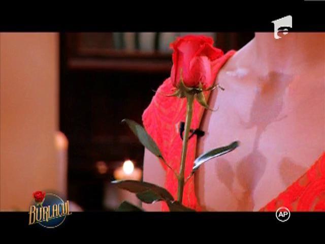 Andreea primeste primul trandafir