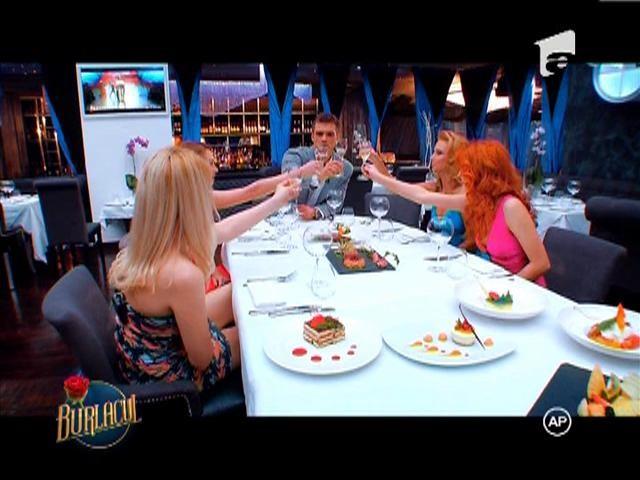 Cina romantica cu Dorina, Elena, Alexandra si Gillian