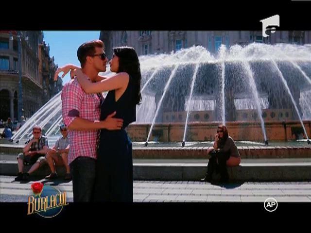 Bogdan si Andreea s-au sarutat langa fantana din Genova