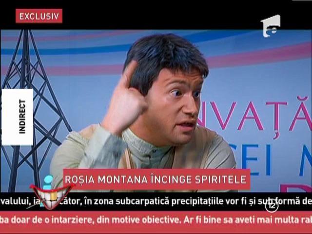 Emisiunea la care nu conteaza subiectul! Stelian Tanase, prezentator - Radu Banciu, Mircea Dinescu si Dan Ciachir, invitati