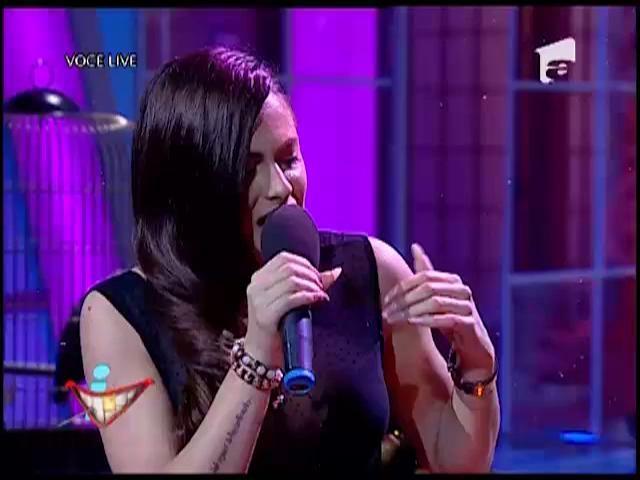 """Raluka a interpretat LIVE """"No Love Allowed"""", la iComedy!"""