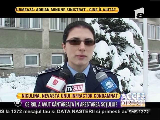 Niculina Stoican, soţia unui infractor