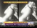 Gina Pistol s-a lăsat fotografiată în costumul Evei, pe un pian