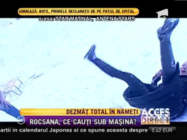 Rocsana Marcu şi Răzvan Botezatu vor ieşi în Piaţa Unirii doar în costume de baie