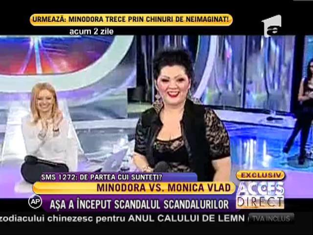 Minodora, criticată dur de Monica Vlad
