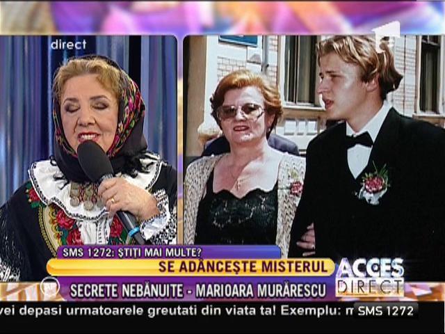 Se tulbură apele şi mai tare în cazul fiului celebrei Marioara Murărescu!