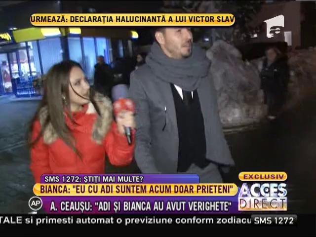 Adrian Cristea este extrem de bine dispus, după divorţul dintre Bianca şi Victor