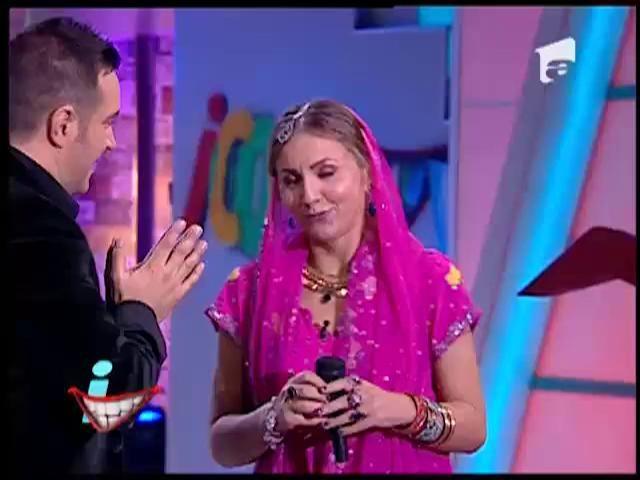 Iulia, aşa l-ai cucerit pe Salma Khan? Demonstraţie spectaculoasă de dans indian