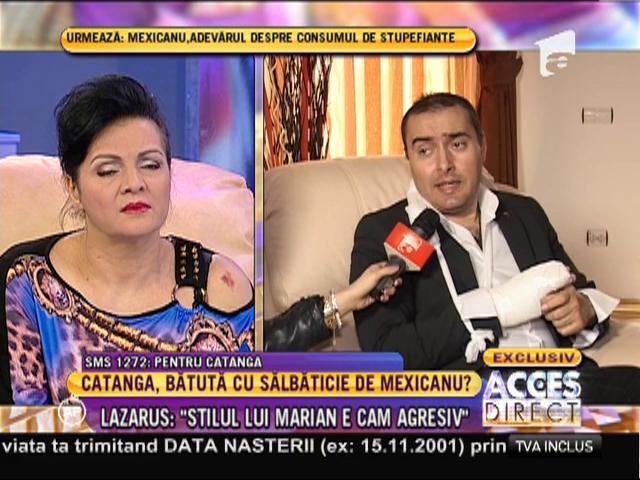 """Marian Mexicanu: """"A fost o mică discuţie între noi că muzicanţi!"""""""