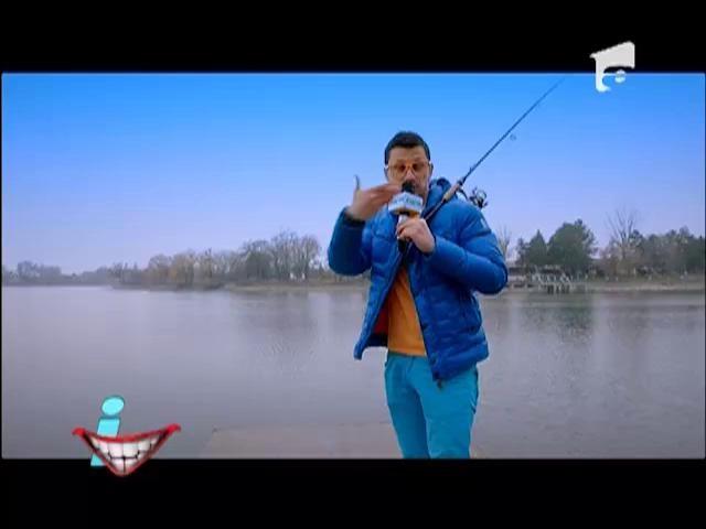 Dl. Rimă, pescar înrăit
