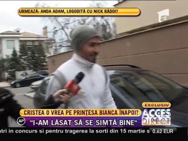 O vrea Adrian Cristea pentru el pe proaspăt divorţata Bianca?