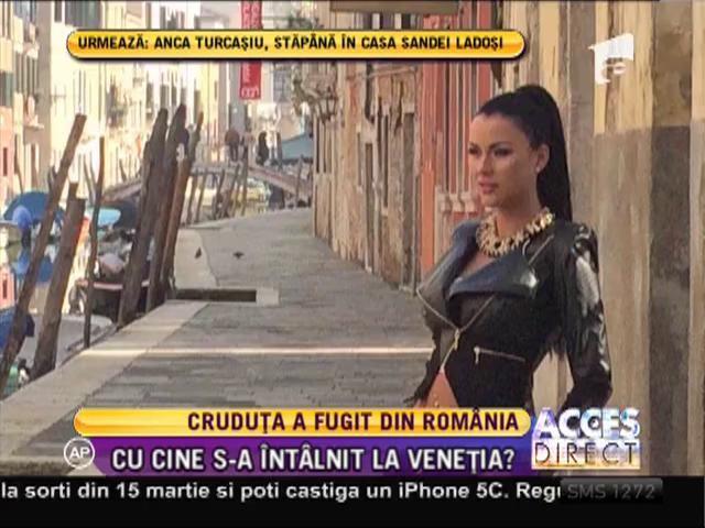Daniela Crudu a părăsit România!