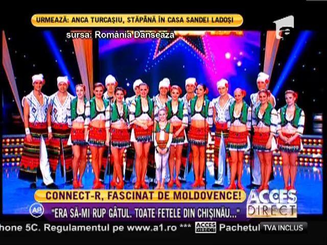 Moldovencele i-au dat mari bătăi de cap lui Connect-R