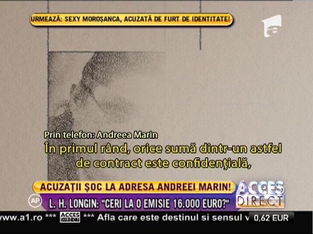 Lucia Hossu Longin, declaraţii incredibile la adresa Andreei Marin