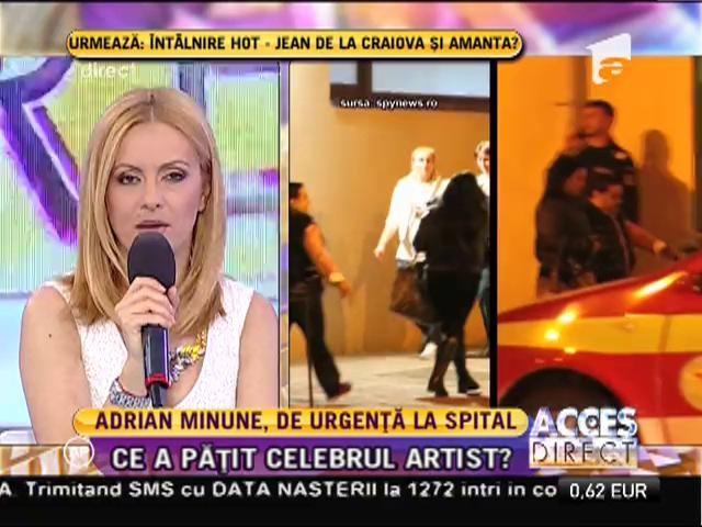 Adrian Minune, la Urgenţe!